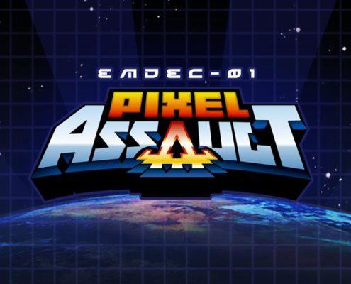 Pixel Assault Logo