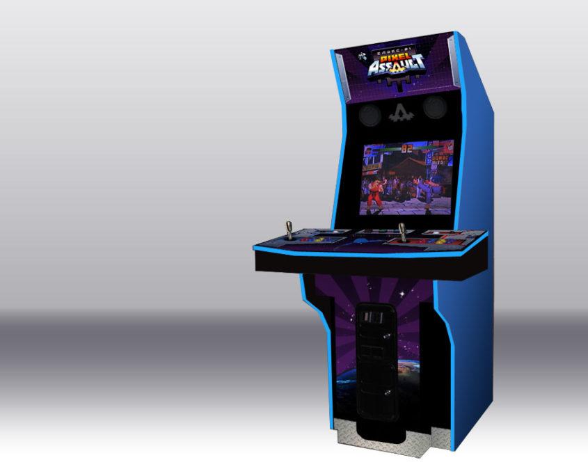 Pixel Assault Arcade Cabinet